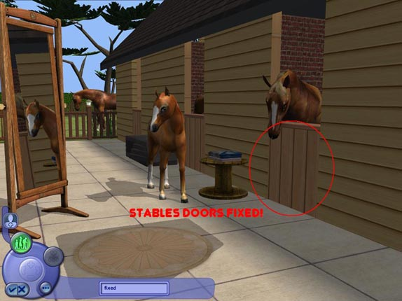 Mod The Sims Stables Cas Background