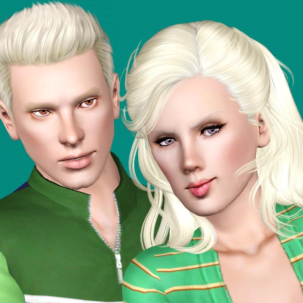 mod the sims maura and tarik verta albino twins