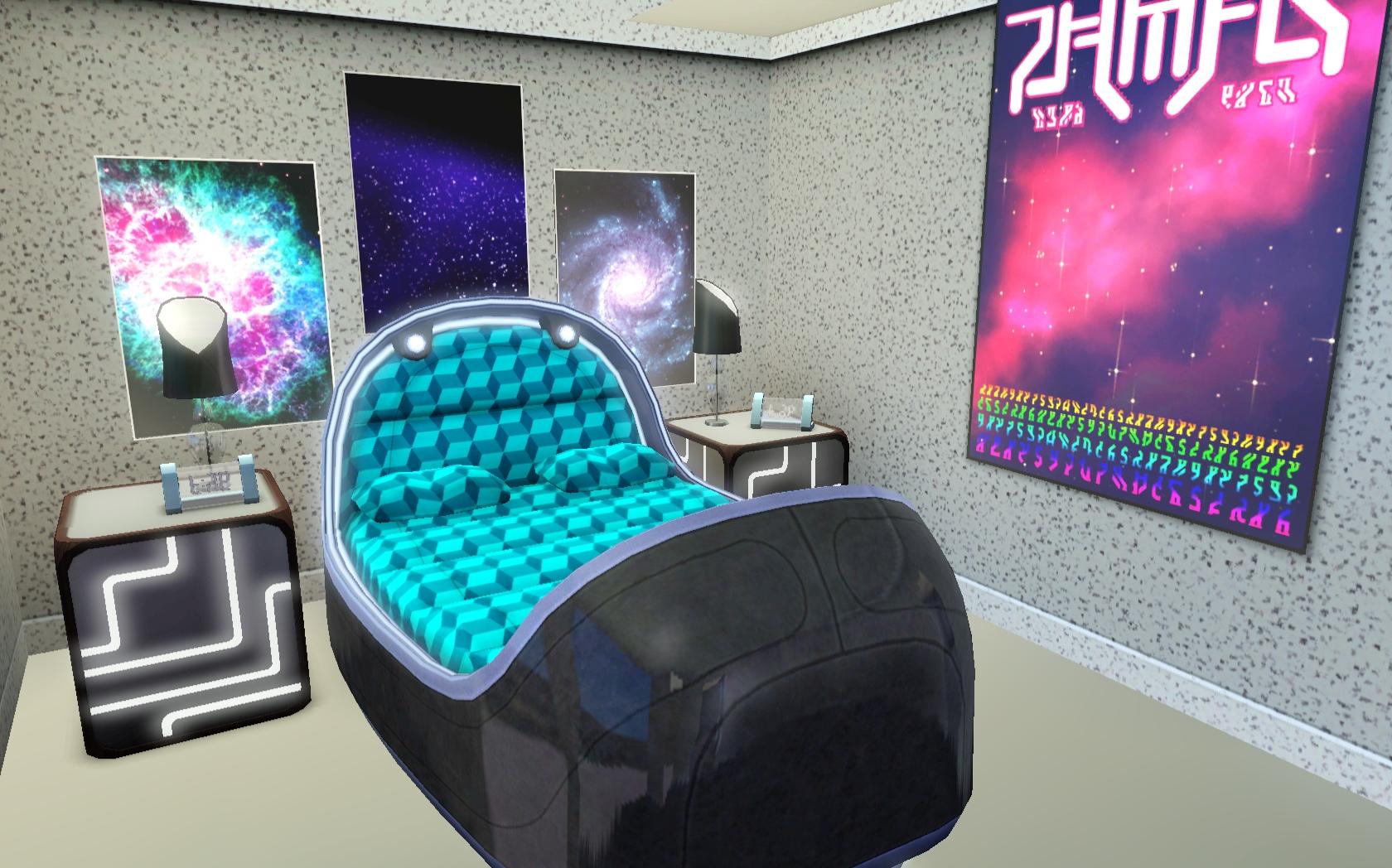 Mod The Sims Alien Island Home
