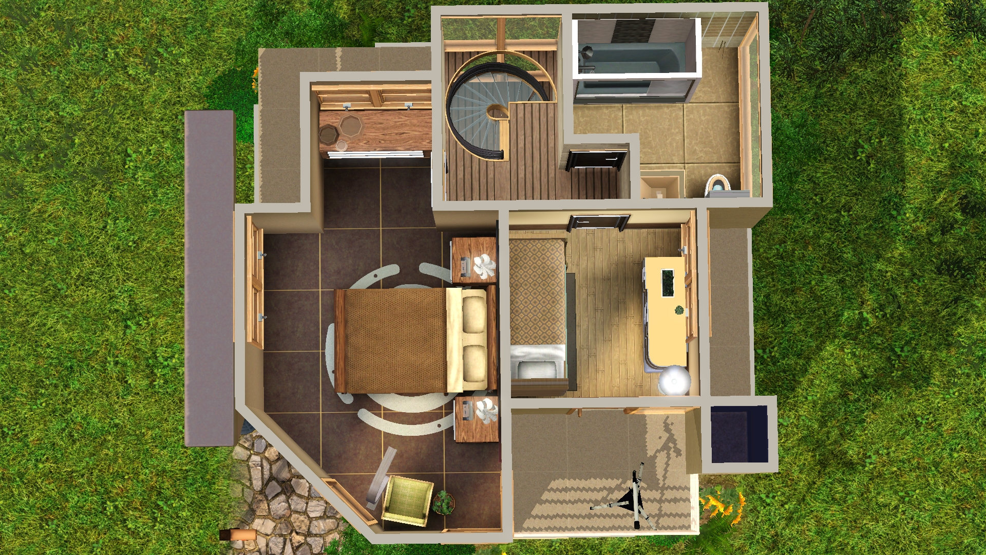 Tiny house plans for a family of 5 for House plans for family of 4