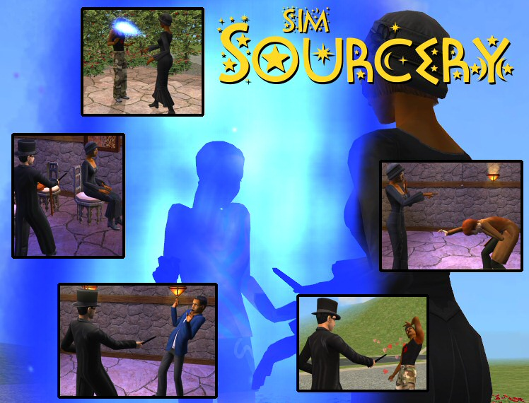 Mod The Sims - Sim Sourcery - Working wand for magic sims