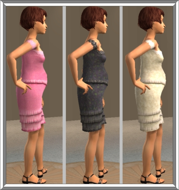 Pregnant teen the sims 2 meshes