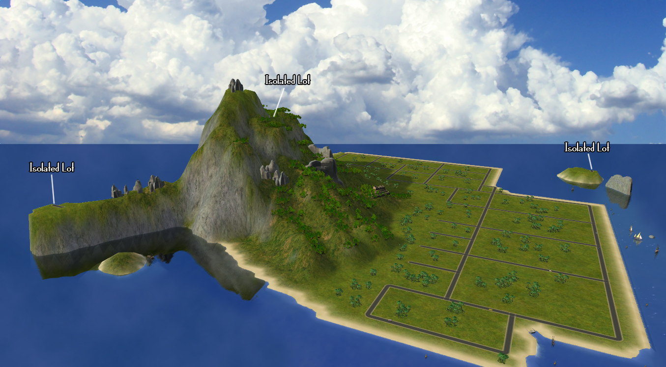 sims 4 how to make an island