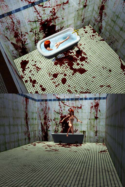 Mod The Sims - Bloody bathroom floor tiles by drcolossus