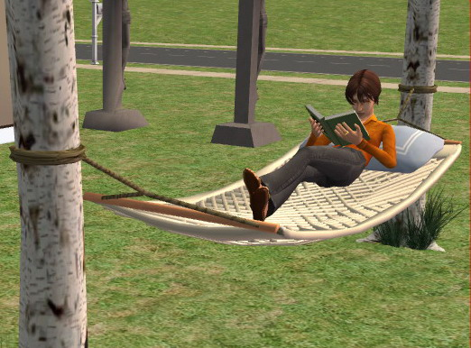 Sims 3 Hammock Mod The Sims Two Working Hammocks For Your