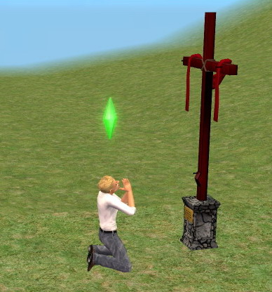 Mod The Sims A Cross For Your Church And An Updated Wall