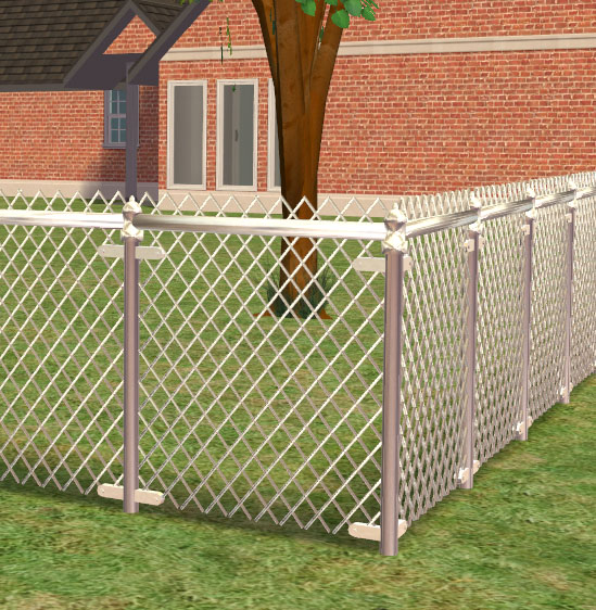Mod The Sims Updated With Gates A Chain Link Fence
