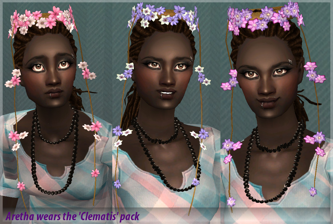 Mod The Sims Nymph Flower Crowns