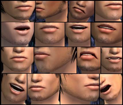 The sims 2 facial hair