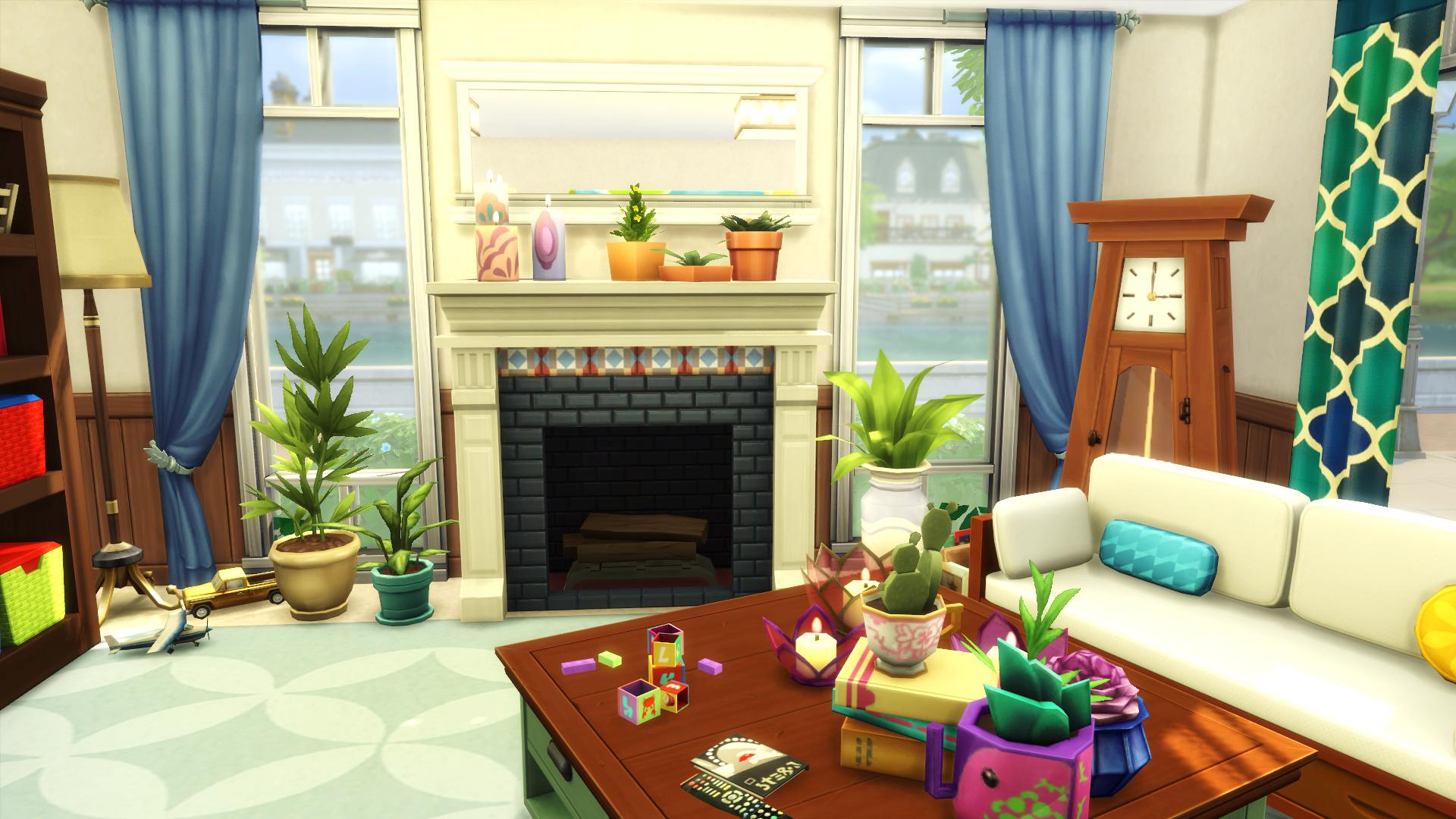 Mod The Sims - Family House - No CC