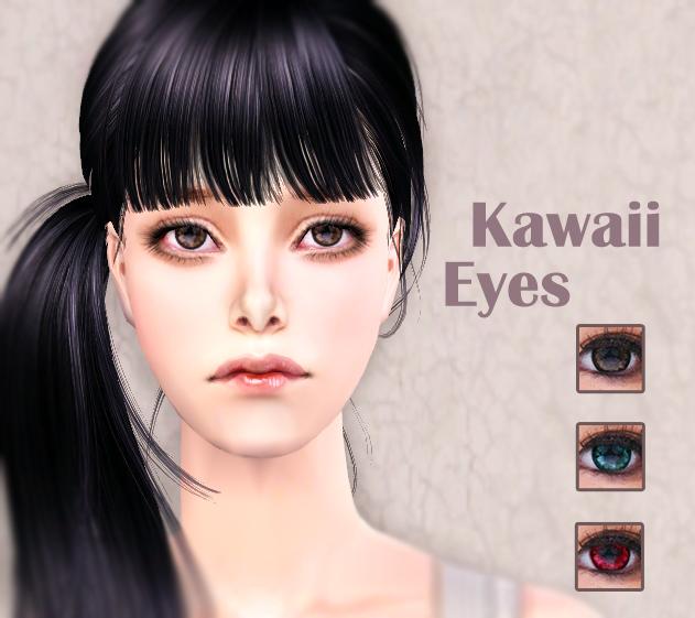 Mod The Sims Kawaii Eyes