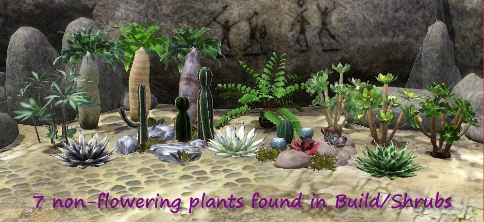desert plants for ts3 macarossi 39 s desert landscape set converted to