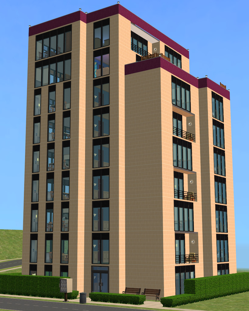 Apartment: Purple Lining Apartment Tower