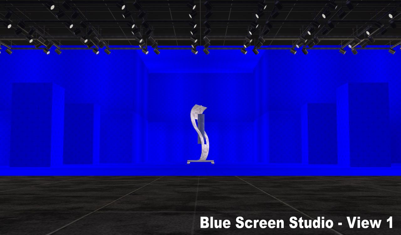 Nci S Blue Screen Studio Wall Paint