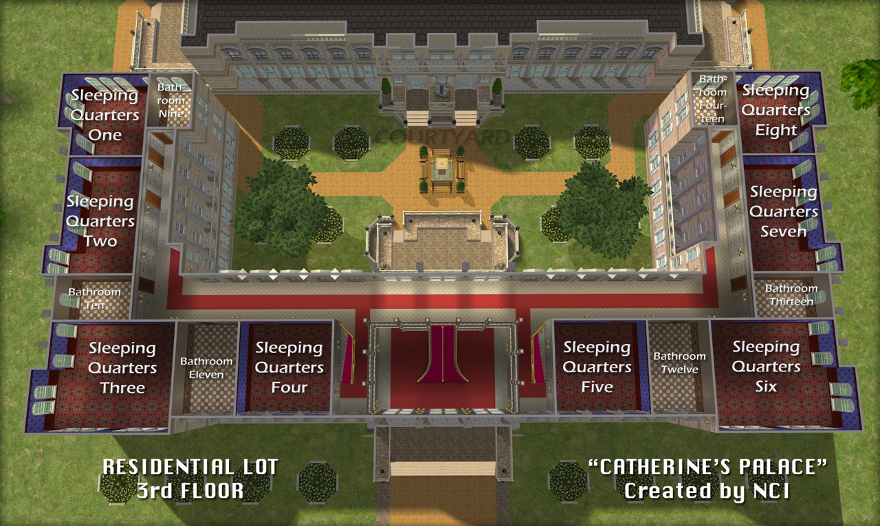 Mod The Sims NCI Catherines Palace