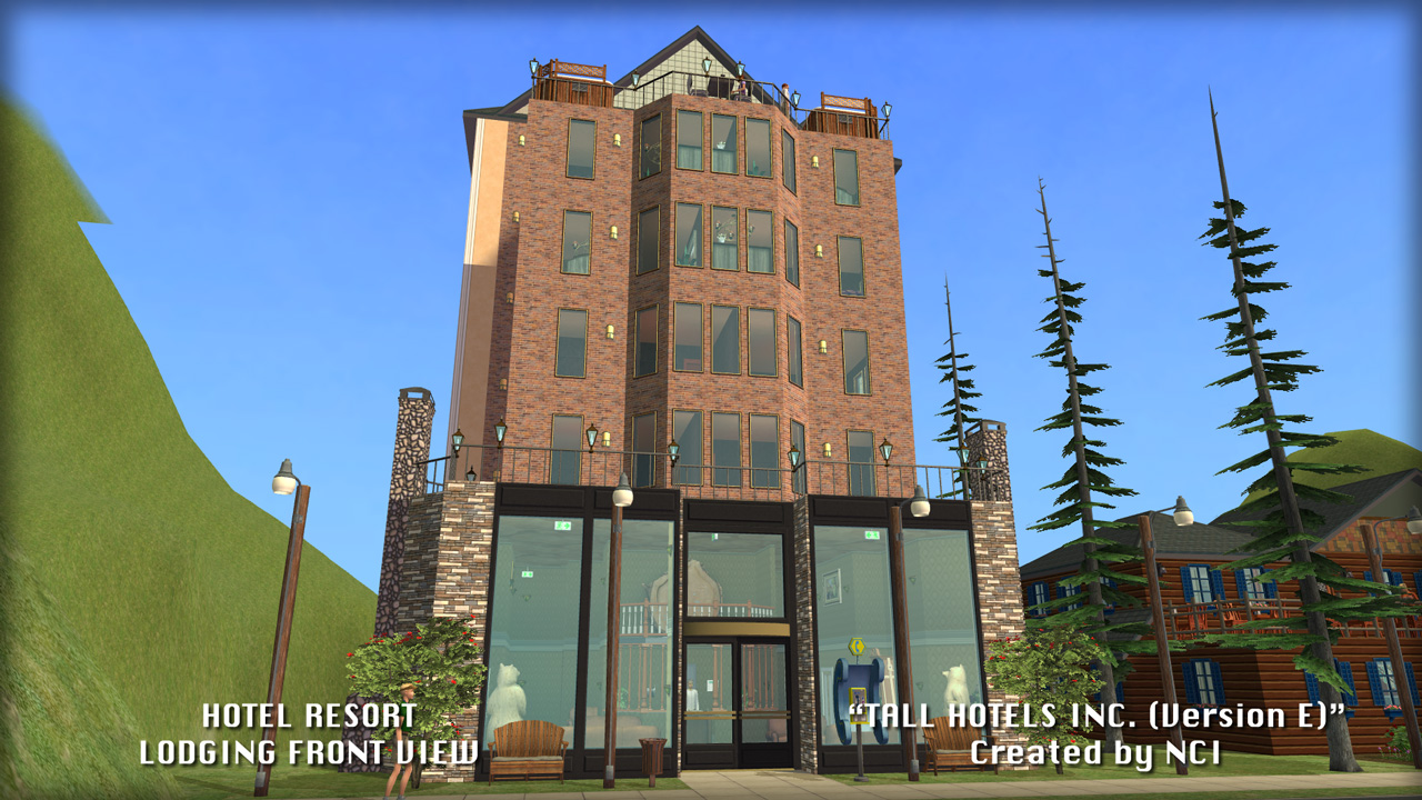 Mod The Sims Nci Tall Hotels Inc Hotel Design E