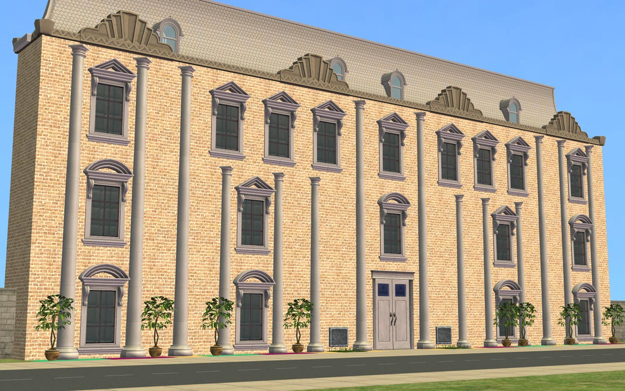 Mod The Sims - NCI - Two & Three Storey Half Columns