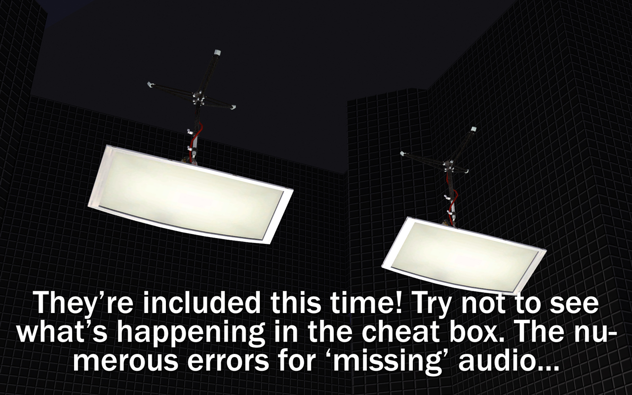 Mod The Sims - NCI - TV Performance Studio Curtains + Fill Light