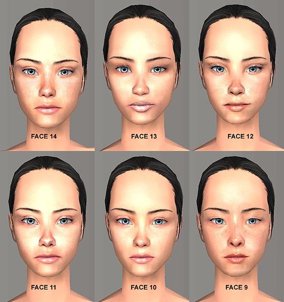 Sims2 skin Nude Photos 13
