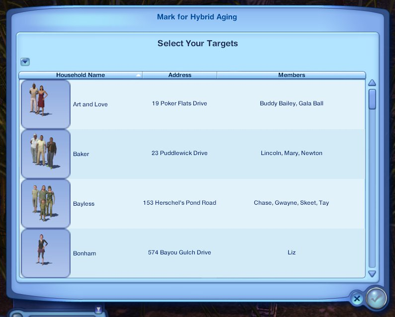 the sims 4 how to stop aging