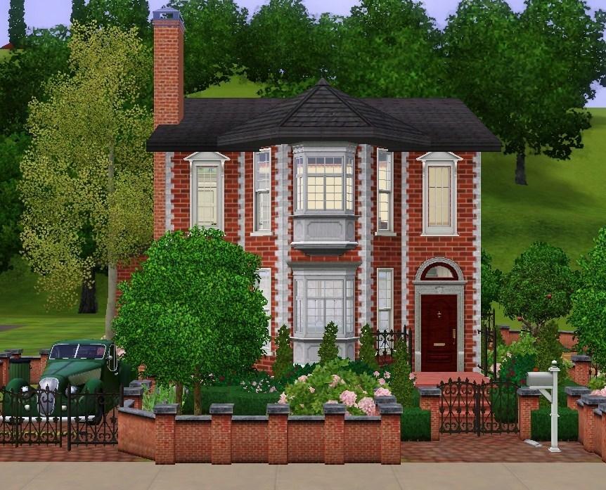 Mod the sims an english suburban house