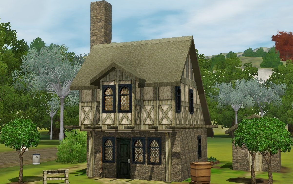 Mod the sims medieval starter hovel for 20x20 house