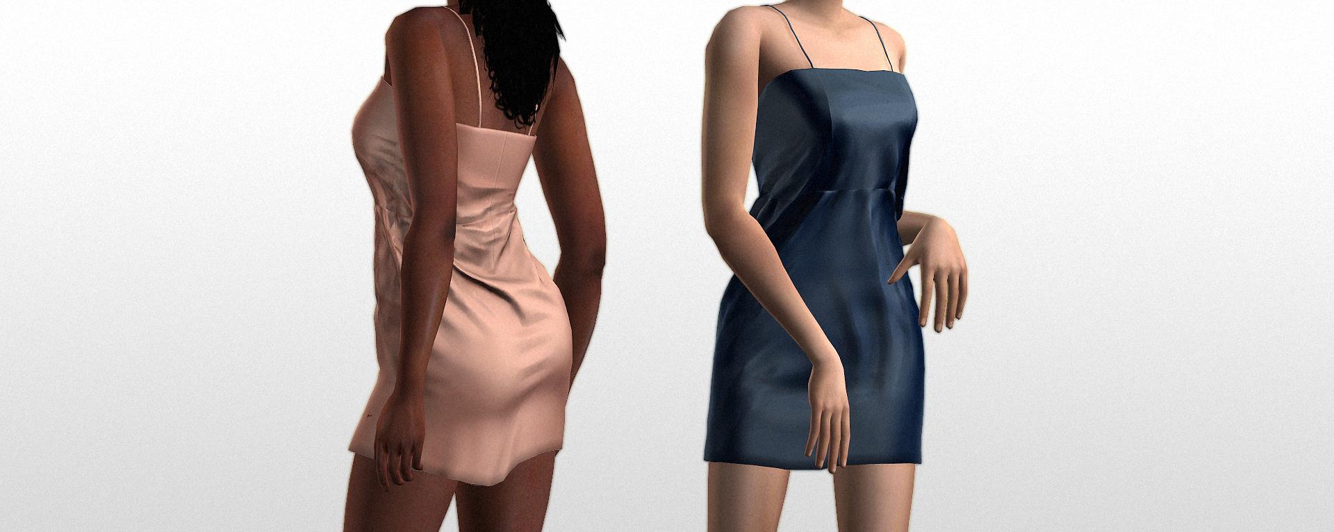Мод Моне платье