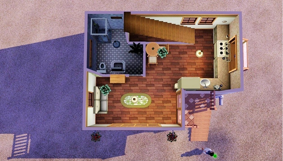 Mod The Sims Tiny Beach House Starter
