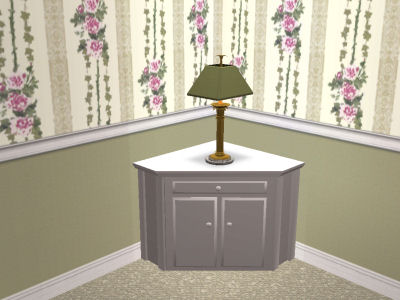 Mod The Sims Corner Table Cabinets