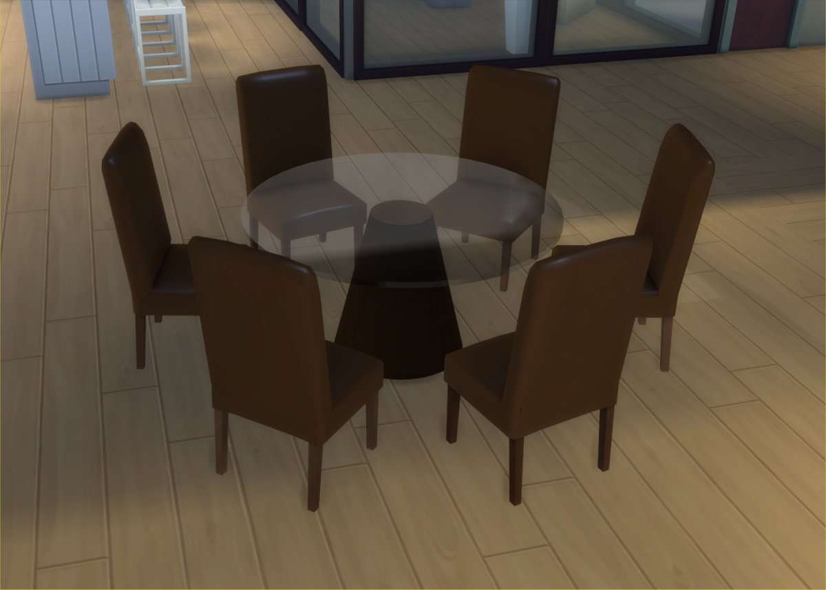 Mod The Sims Modern 6 Seater and 8 Seater Round Dining  : MTSIngeJones 1566251 LiveMode2 from modthesims.info size 1200 x 857 jpeg 78kB