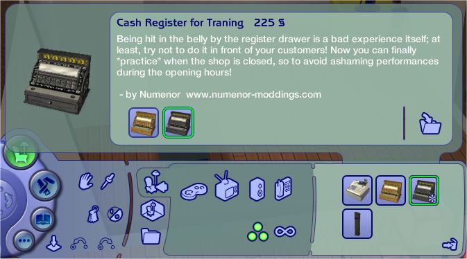 mod the sims cash register trainer custom version ofb required