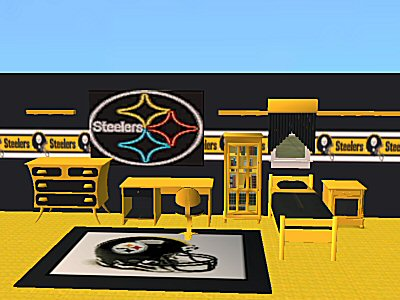 steelers bedroom. Advertisement  Mod The Sims Packers and Steelers NFL Bedroom Sets
