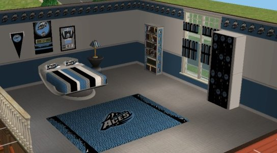 Advertisement. Mod The Sims   Alaska Aces Hockey Bedroom for Holywaterak