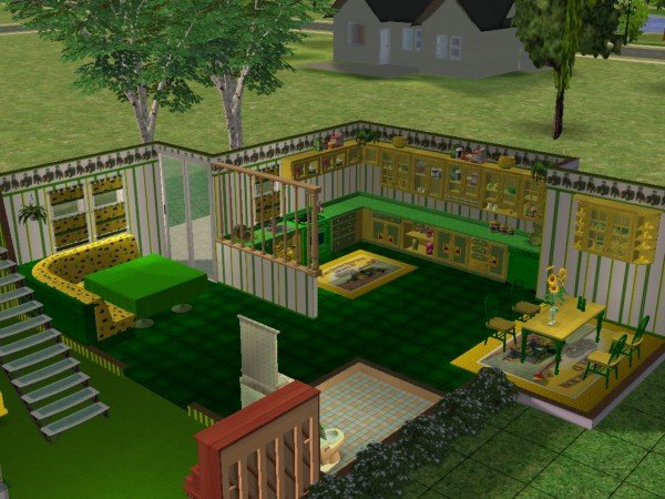 Mod the sims john deere kitchen and dining set rgiles for Perfect kitchen scarborough