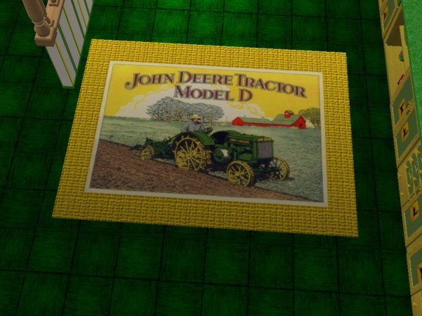 john deere floor rugs john deere kitchen and dining set rgiles