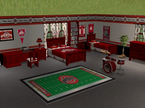 Ohio State Bedroom Home Decoration Ideas