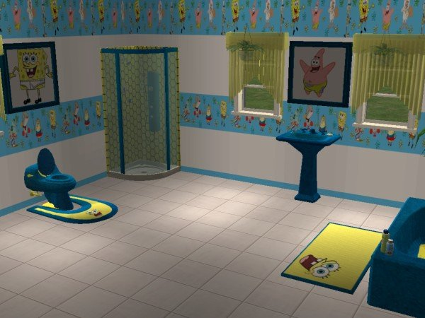 Mod The Sims Spongebob Squarepants Bathroom