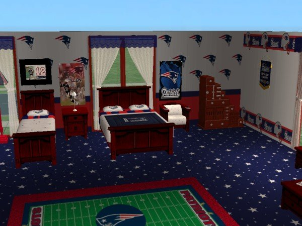 Mod The Sims New England Patriots Set For Firefly001282