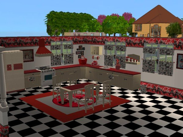 Mod The Sims Coca Cola Kitchen Maylin Country Kitchen