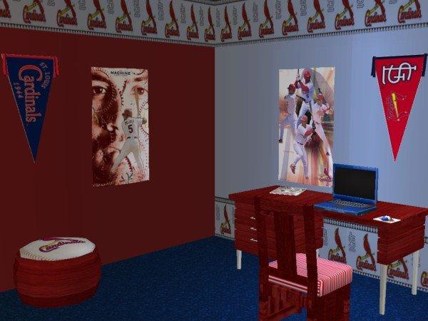 St Louis Cardinals Bedroom Bedroom Design Ideas