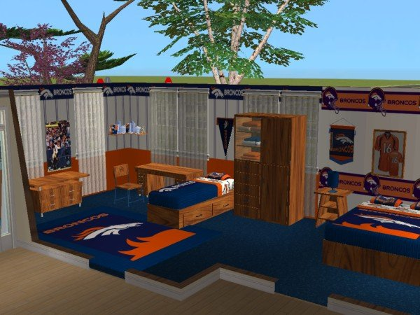 Denver Broncos Room Decor - Home Decorating Ideas