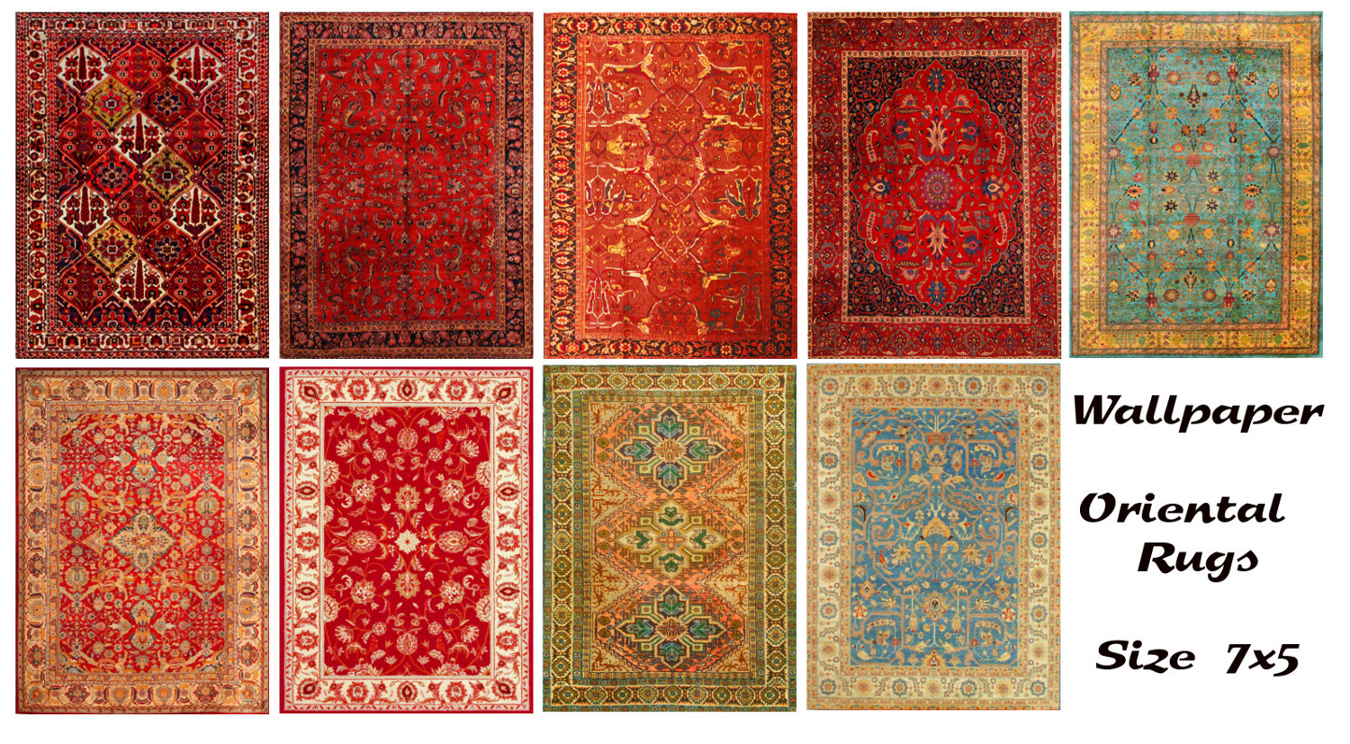 Mod The Sims Oriental Rugs Size 7x5
