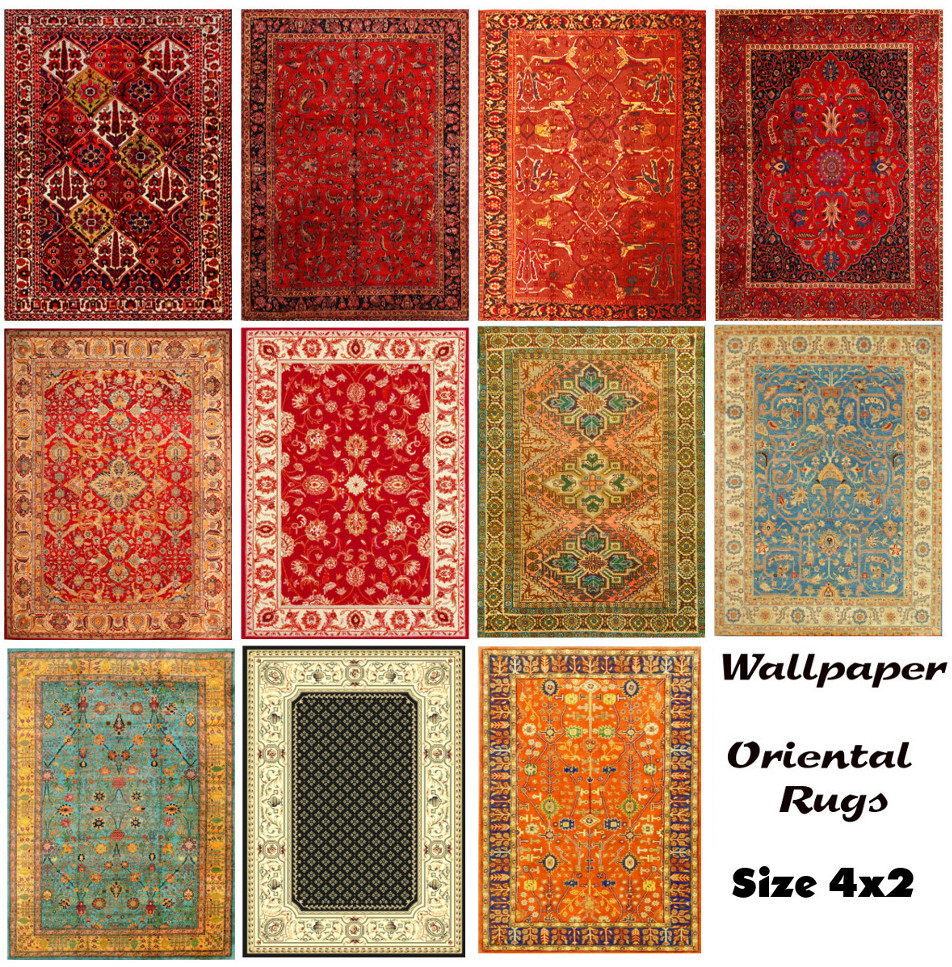 Mod The Sims More Oriental Rugs Size 4x2