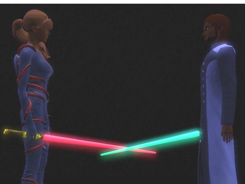 Light saber sex