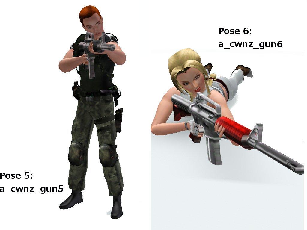 Sims 3 download guns