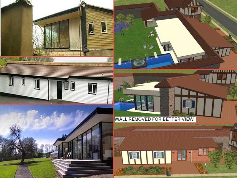 Mod the sims grand designs the garden house no cc for Grand designs garden