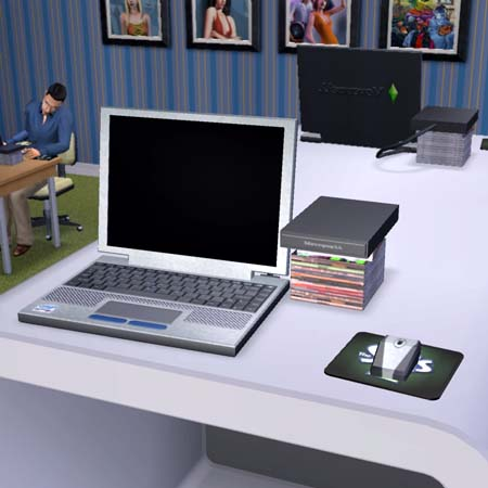 mod the sims moneywell notebook computer 4 versions. Black Bedroom Furniture Sets. Home Design Ideas