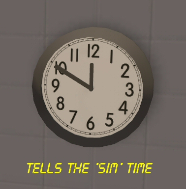 Mod The Sims Testers Wanted School Office Wall Clock