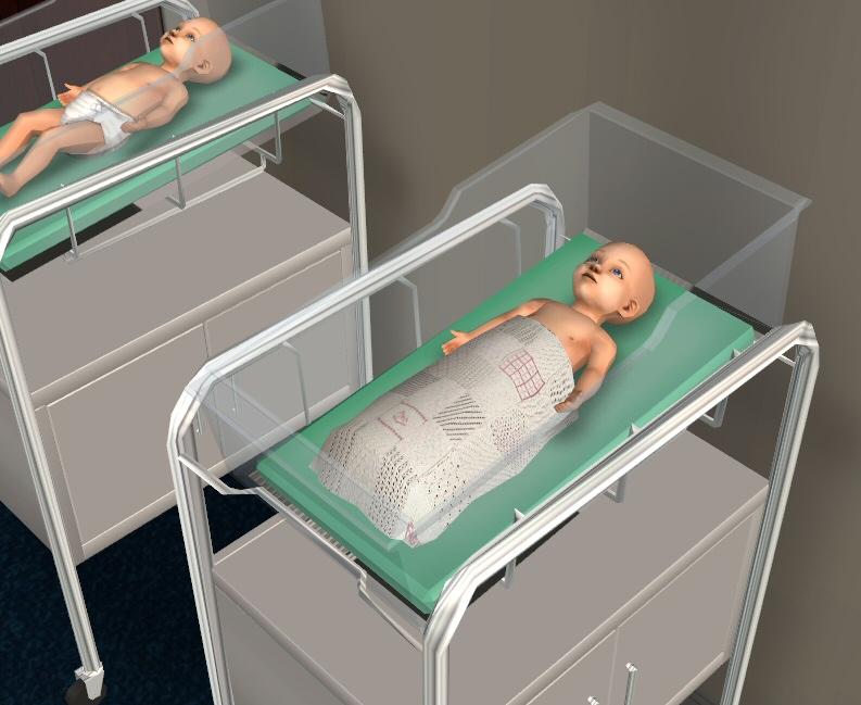Симс 4 младенец как сделать