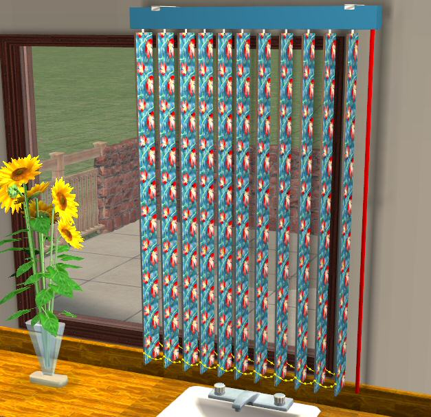 Mod The Sims Testers Wanted Vertical Blinds Update 2